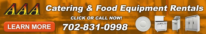 aaa catering food equipment rentals